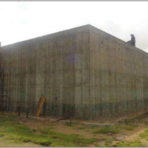 Imagen de construcción de nuevas instalaciones de Corpoboyacá