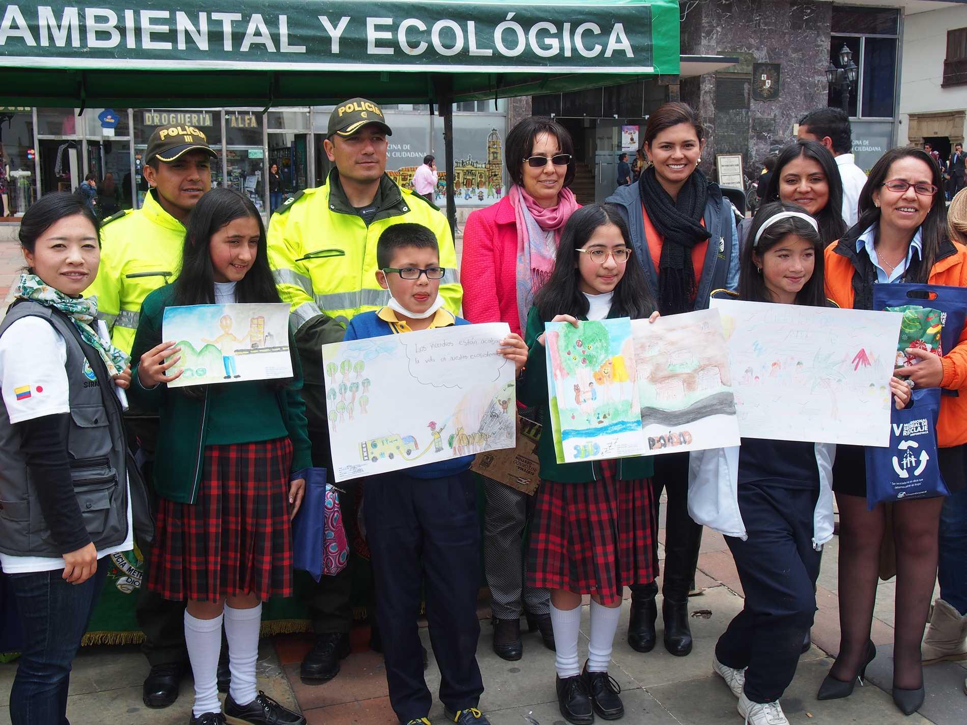Concurso de dibujo infantil ambiental