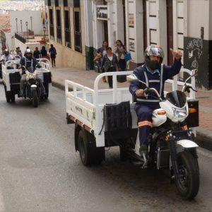 Entrega de Moto Taxis