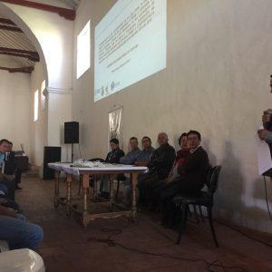 socialización del proyecto para la reglamentación del uso del agua