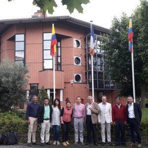 Gobierno Francés y Corpoboyacá consolidan alianzas