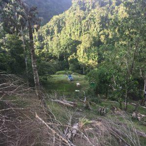 Acciones adelantadas en el Parque Regional Natural Serranía de las Quinchas