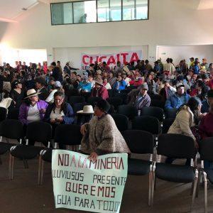 Comunidades de Cucaita y Tunja se reunieron en Corpoboyacá