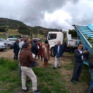 Misión de la Unión Europea visitó el Lago de Tota 2