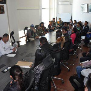 Mesa técnica proyectos mineros en la vereda Pijaos del municipio de Cucaita 7