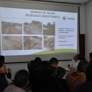 Mesa técnica proyectos mineros en la vereda Pijaos del municipio de Cucaita 4