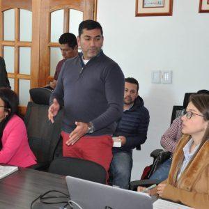 Mesa técnica proyectos mineros en la vereda Pijaos del municipio de Cucaita 2