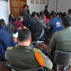 Mesa técnica proyectos mineros en la vereda Pijaos del municipio de Cucaita 1