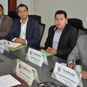Fueron posesionados los nuevos alcaldes del Consejo Directivo de Corpoboyacá 2