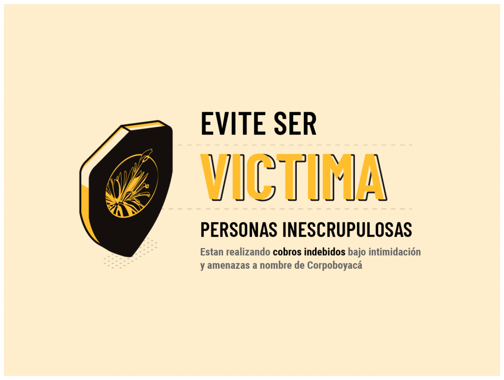Foto Circular externa 47 – Prevención sobre suplantación de funcionarios de Corpoboyacá