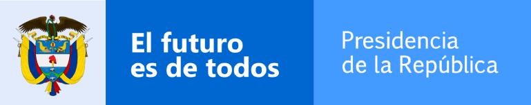 Logo de Presidencia de la República de Colombia