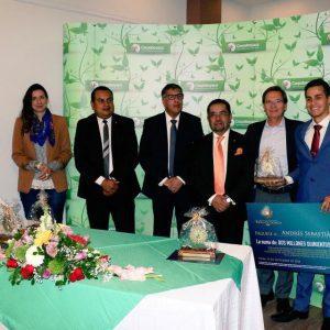 Premiación Espeletia Dorada 1