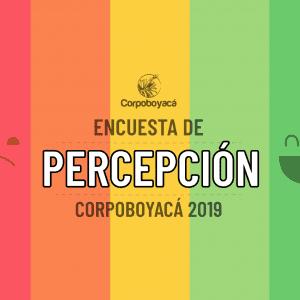 Foto Encuesta de Percepción 2019 de la Corporación Autónoma Regional de Boyacá