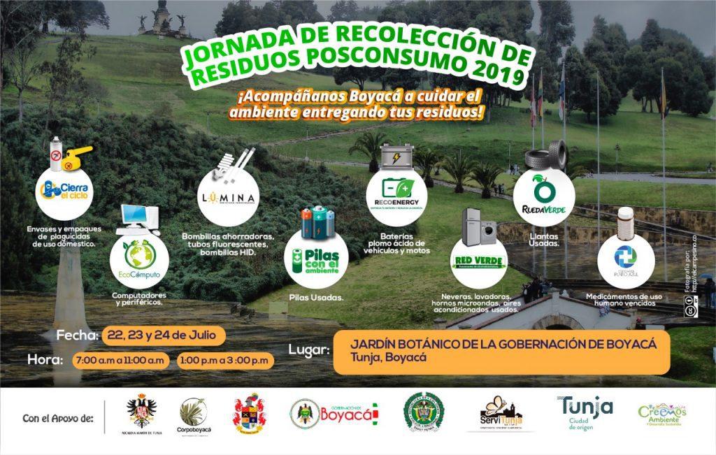 Foto Jornada de Recolección de Residuos Posconsumo 2019