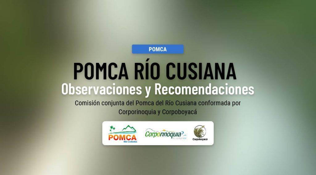 Foto Documento para observaciones y recomendaciones Actualización POMCA Río Cusiana