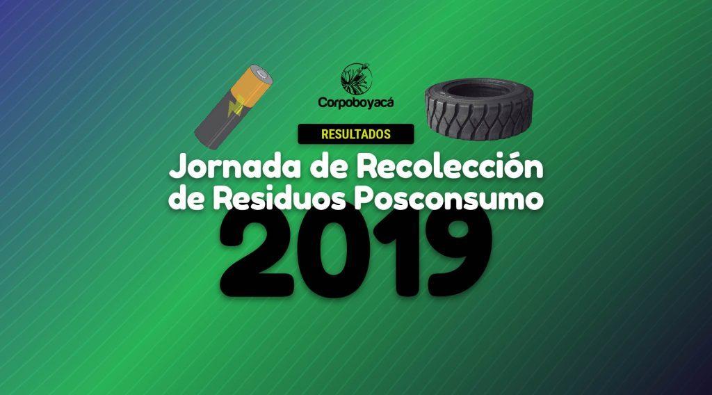 Foto Resultados de la Jornada de Recolección de Residuos Posconsumo 2019