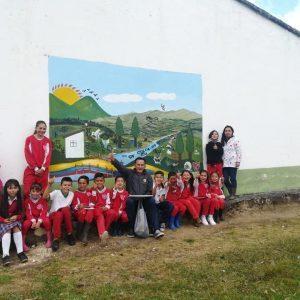 """Foto Niños boyacenses reconocen su territorio a través de """"Coloreando Escuelas"""""""