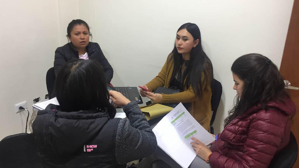 Foto Mesa de trabajo alcaldía de Cucaita
