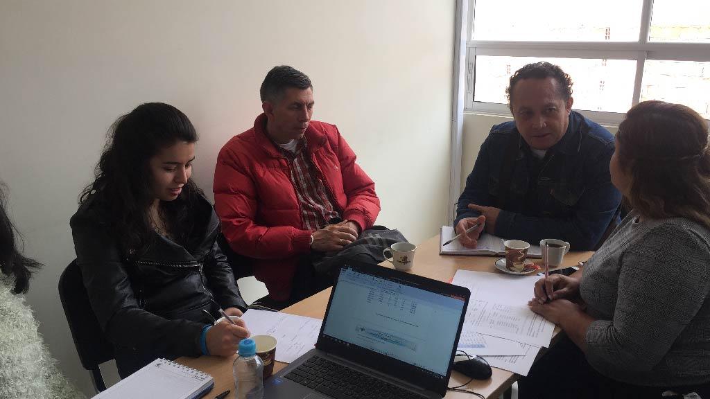 Foto Mesa de trabajo municipio de Moniquirá