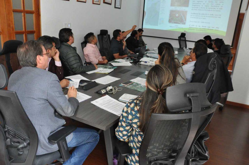 Foto Comunicado de Prensa Delimitación y declaratoria de los bosques secos del Chicamocha