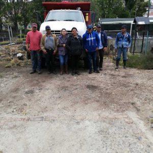 Entrega material vegetal vda Guaticha municipio de Siachoque