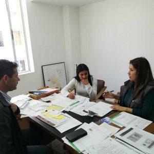 visita institucional Secretaria de Agricultura municipio de Paipa