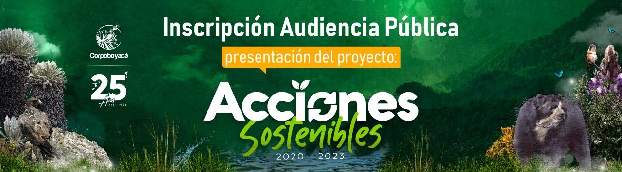 Foto Invitación Audiencia Pública de Presentación del Plan de Acción de Corpoboyacá