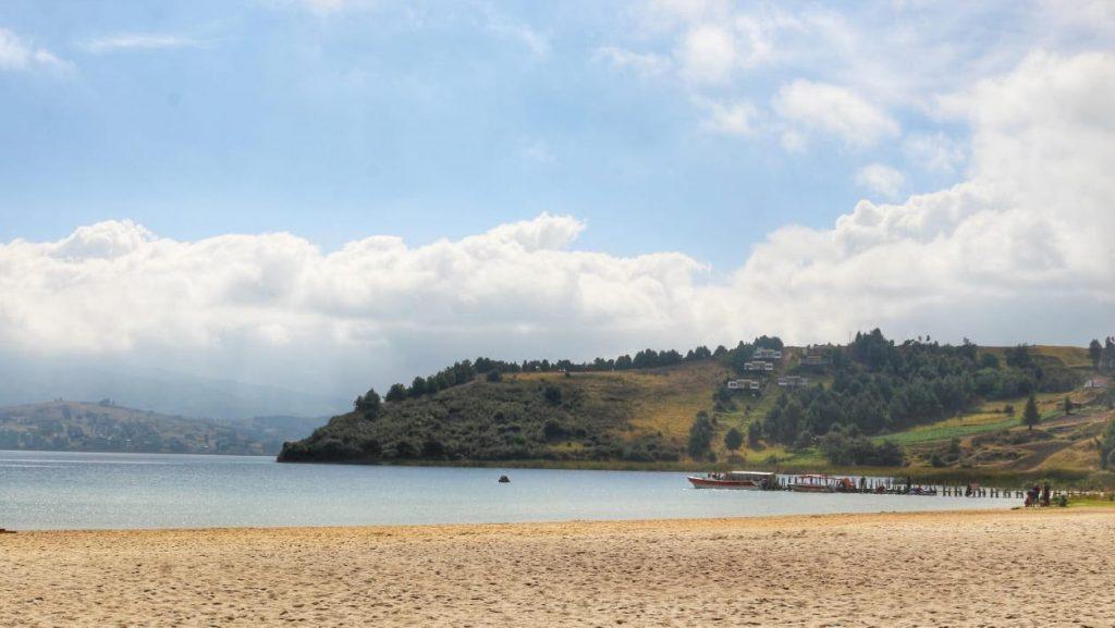 Foto Debido a la pandemia Corpoboyacá recuerda que Playa Blanca está cerrada y no se ofrecen servicios turísticos