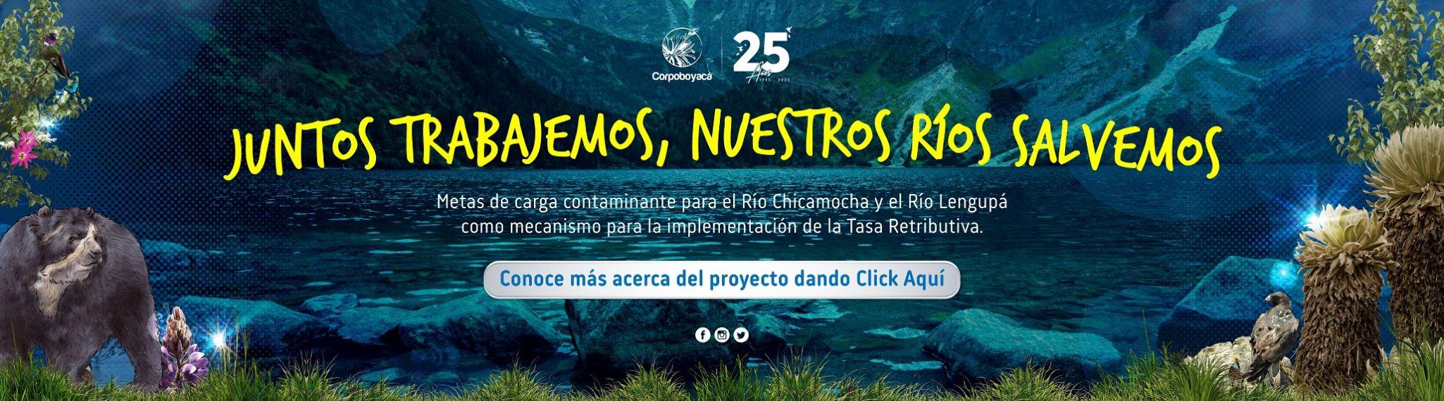 Foto Juntos trabajemos, nuestros ríos salvemos.