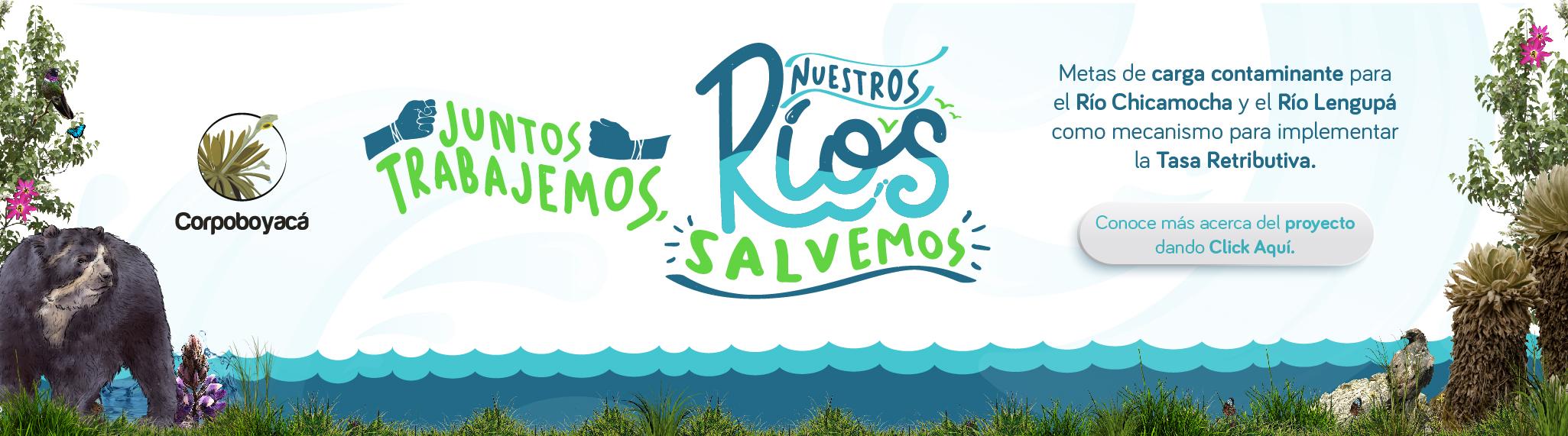Foto Juntos trabajemos, nuestros ríos salvemos