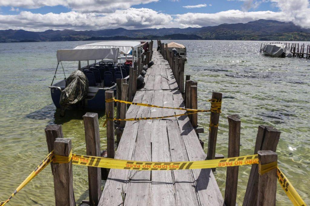 Foto Corpoboyacá retirará muelles en Playa Blanca