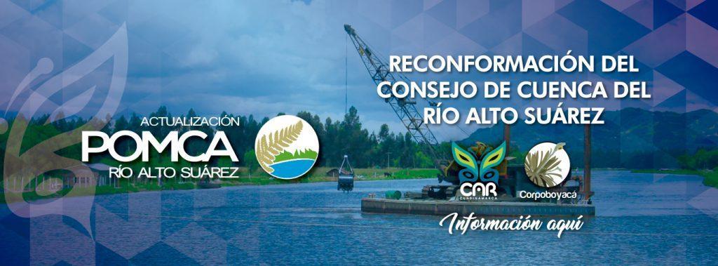 Foto Reconformación del Consejo de Cuenca del Río Alto Suárez