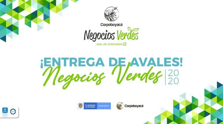Foto Corpoboyacá y MinAmbiente entregaron aval de confianza a 20 negocios verdes de la jurisdicción