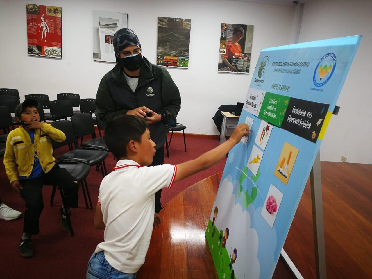 Foto Corpoboyacá Conmemora el día Internacional de la Protección de la Capa de Ozono