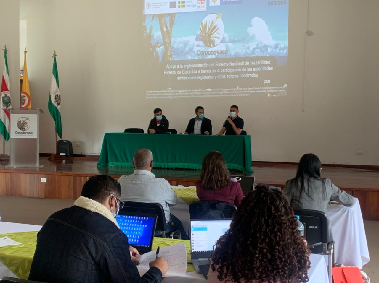 Foto Corpoboyacá participó en socialización del Libro de Operaciones Forestales en Línea – LOFL