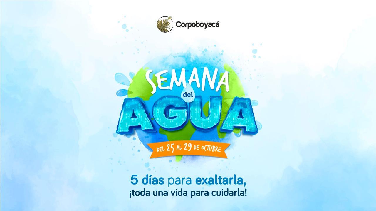 Foto Comienza la Semana del Agua de Corpoboyacá